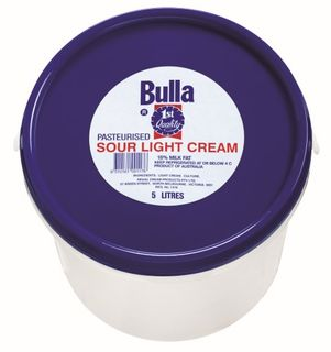 SOUR CREAM 5 Ltr  BULLA
