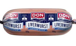 LIVERWURST LATVIAN 500GM (3)  43809 DON
