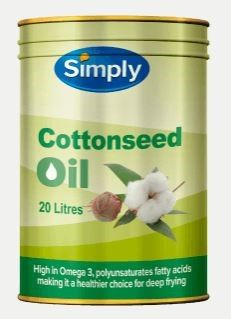 OIL COTTONSEED SIMPLY 20 LTR