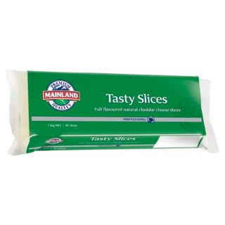 CHEESE TASTY SLICES 90'S (8) MAINLAND