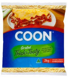 CHEESE TASTY SHREDD COON 2KG (6)