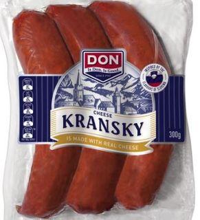 KRANSKY CHEESE 2.5KG (2) DON  79229