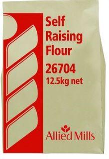 FLOUR SELF RAISING 12.5KG SUNFIELD
