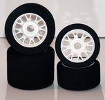 Hotrace 1/8 Fr 37 Premonted Tyres