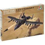 Ita-01376 1/72 A-10 Thunderbolt Gulf War