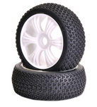 Torando 1/8 Buggy Tyre On Rim 2pce