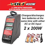 Volt Tower 400ac: 400w Dual Charger