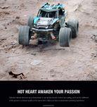 18312 1/18 Thunder  Desert Racer Blue
