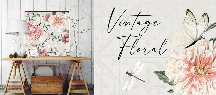 NEW Vintage Floral