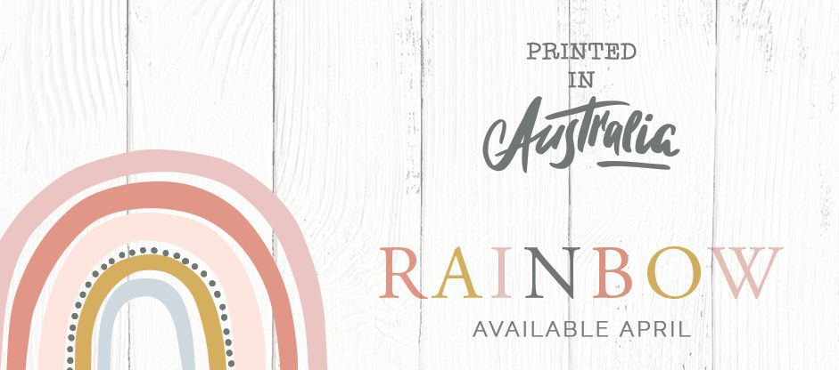 Brand New RAINBOW   Printed in Australia & Available Now