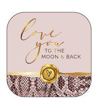 Jewellery Box 8cm  Assorted Vogue LOVE