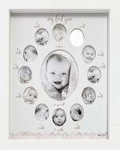 Baby 1st Year Baby Critters COLLAGE GREY