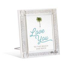 Sentiment Plaque 12x15 3D Bahamas LOVE