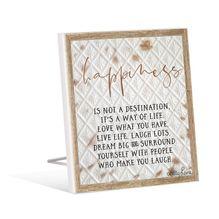 Sentiment Plaque 12x15 3D Soul HAPPINESS