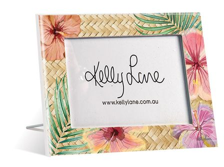 Photo Frame 20x25 5x7 3D Hibiscus FLORAL