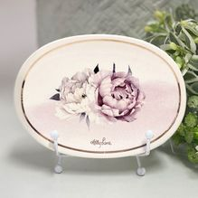 Trinket Dish Mothers Day FLORAL