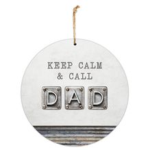 Hanging Tin Sign 30cm Fathers Day DAD 0039