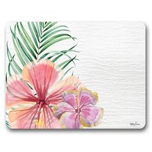 Placemat S/6 34x26.5 Hibiscus FLOWERS