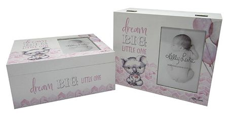 Photo Frame Box  Baby Critters GIRL