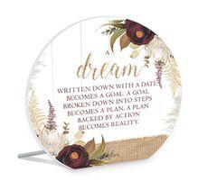 Sentiment Plaque 15x16 3D Natives DREAM