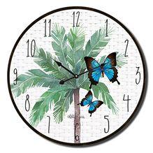 Clock 34cm Fiesta FLORAL