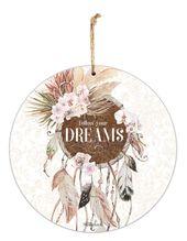 Hanging Tin Sign 30cm Bismark DREAMCATCH