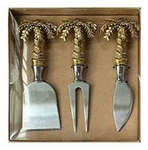 Cheese Knife Set of 3 PALM