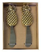 Cheese Knife Set of 2 PINEAPPLE