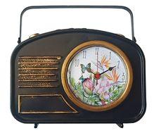 Iron Table Clock 23X22 Fiesta