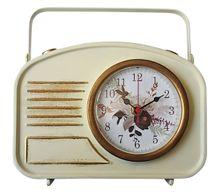 Iron Table Clock 23X22 Natives