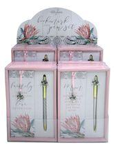 Bookmark & Pen Set 12pc Protea