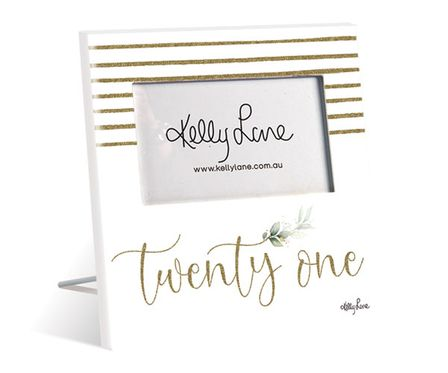 Photo Frame 20x20 6x4 3D Occassions 21st