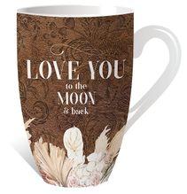 Mug 13oz Bismark LOVE YOU