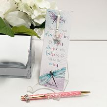 Bookmark & Pen Damselflies DRAGONFLIES