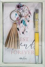 Keyring & Pen Boho Fairy FRIENDS