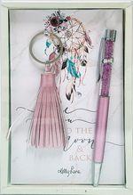 Keyring & Pen Boho Fairy MOON