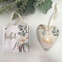 Heart Gift Bag Boho Luxe TOILET