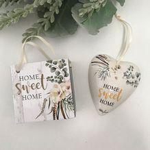 Heart Gift Bag Boho Luxe HOME SWEET HOME