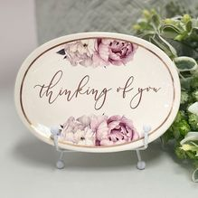 Trinket Dish Mothers Day THINKING OF YOU