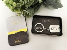 Metal Key Ring Gift Boxed Occassions KEY