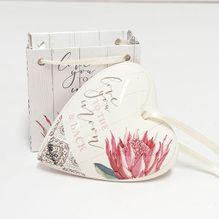 Heart Gift Bag Protea MOON