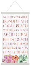 Scroll 30x60 Hibiscus DESTINATION