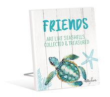 Sentiment Plaque 12x15 3D Turtles FRIEND
