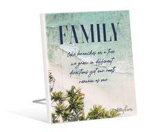 Sentiment Plaque 12x15 3D Oasis FAMILY