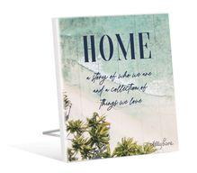 Sentiment Plaque 12x15 3D Oasis HOME
