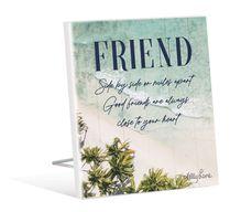 Sentiment Plaque 12x15 3D Oasis FRIEND