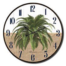 Clock 22cm Oasis PALM