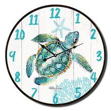 Clock 34cm Turtles ELLIOT