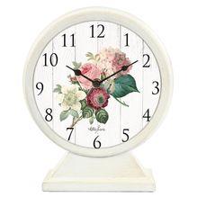 Table Clock 21.5x25.5x7.5 Heirloom