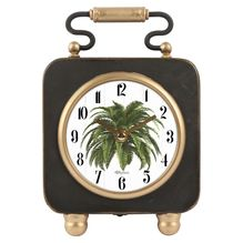 Table Clock 14.5x21.5x5 Oasis